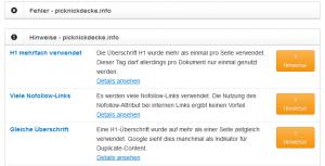 sistrix-website-check