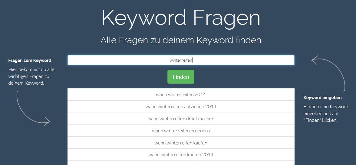 keyword-fragen-resultate